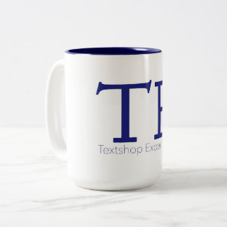 Textshop Experiments Coffee Mug