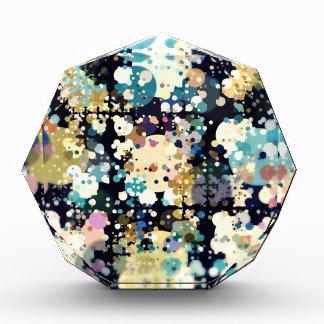 Textural Circles Abstract