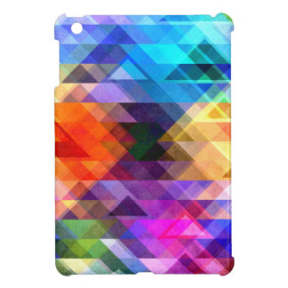Textural Geometry of Color iPad Mini Cases