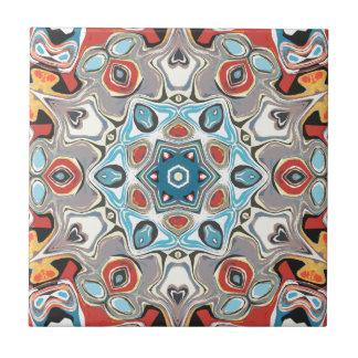 Textural Kaleidoscope Abstract Ceramic Tiles
