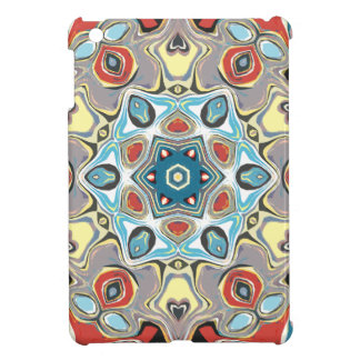 Textural Kaleidoscope Abstract Cover For The iPad Mini
