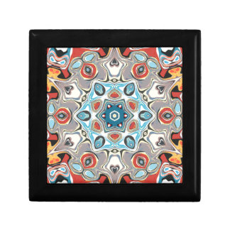 Textural Kaleidoscope Abstract Gift Box