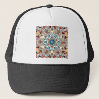 Textural Kaleidoscope Abstract Trucker Hat