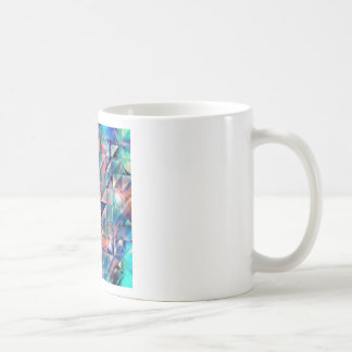 Textural Reflections of Turquoise Coffee Mug
