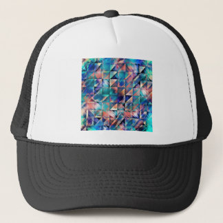 Textural Reflections of Turquoise Trucker Hat