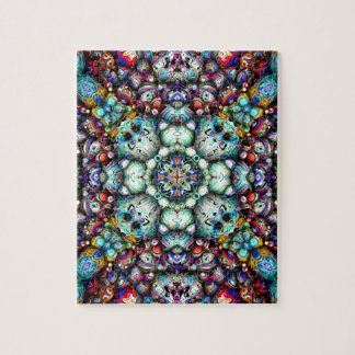 Textural Surfaces of Symmetry Jigsaw Puzzle