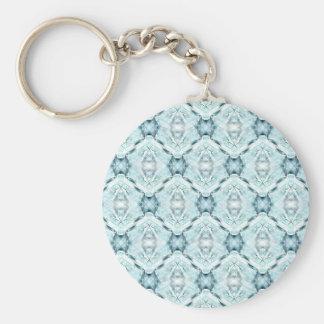 Texture #4408 basic round button keychain
