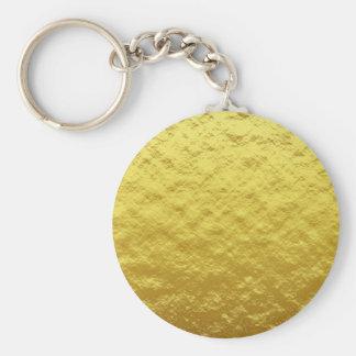 texture #7 basic round button keychain