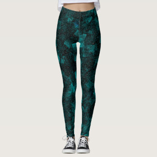 texture abstract leggings