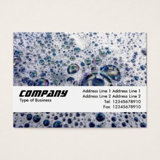 Texture Band - Soap Suds Business Card