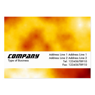 Texture Band - Solar Flare Business Card Templates