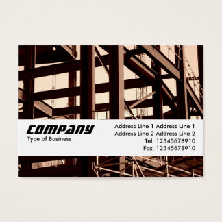 Texture Band - Steel Frame Contruction Business Card
