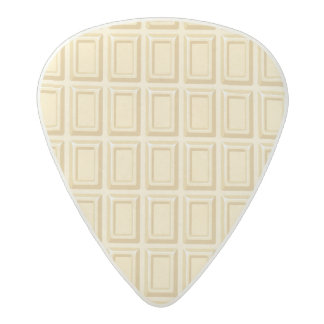 Texture blanche de barre de chocolat médiator acetal