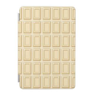 Texture blanche de barre de chocolat protection iPad mini