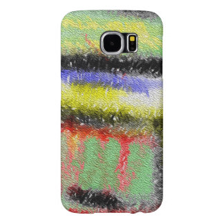 Texture colorful pattern samsung galaxy s6 cases