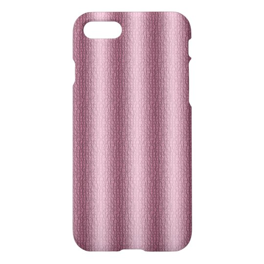 Texture Custom iPhone 7 Glossy Case