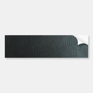 Texture en cuir noire de Faux Autocollant De Voiture