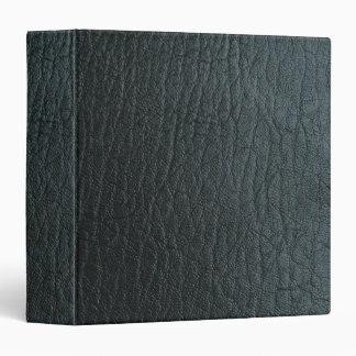 Texture en cuir noire de Faux Classeur