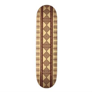 Texture ethnique de Brown Plateaux De Planche À Roulettes