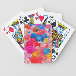 texture jelly balls bicycle playing cards
