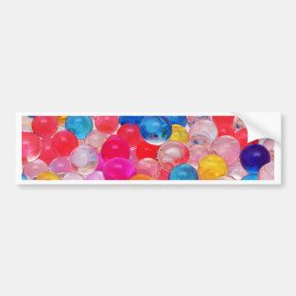 texture jelly balls bumper sticker