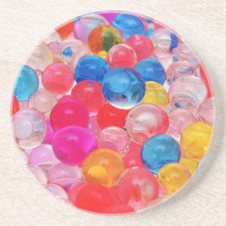 texture jelly balls coaster