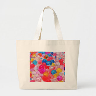 texture jelly balls large tote bag