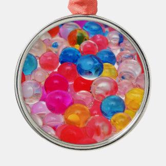 texture jelly balls metal ornament