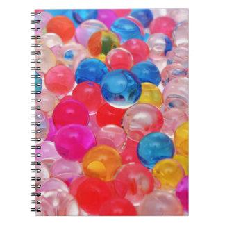 texture jelly balls notebook