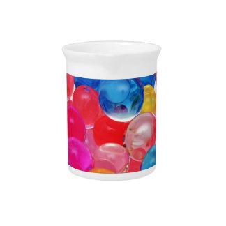 texture jelly balls pitcher