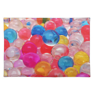 texture jelly balls placemat
