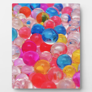 texture jelly balls plaque