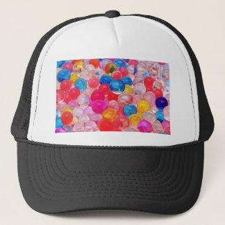 texture jelly balls trucker hat