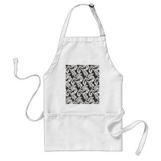 texture lace, guipure _2_2_2 standard apron