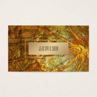 Texture métallique d'or de Faux de PixDezines Cartes De Visite