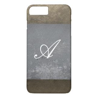texture  monogram iPhone 8 plus/7 plus case