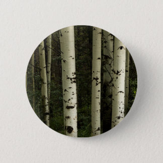 Texture Of A Forest Portrait 2 Inch Round Button