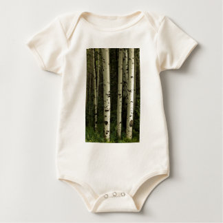 Texture Of A Forest Portrait Baby Bodysuit