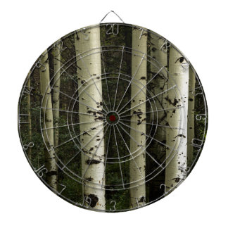 Texture Of A Forest Portrait Dartboard