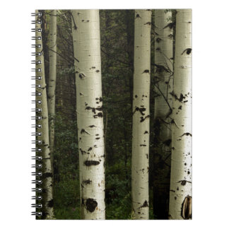 Texture Of A Forest Portrait Notebook