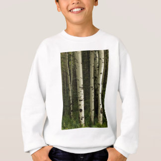 Texture Of A Forest Portrait Sweatshirt