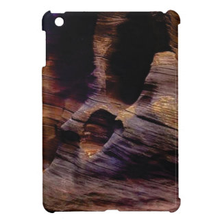 texture of sandstone lines case for the iPad mini