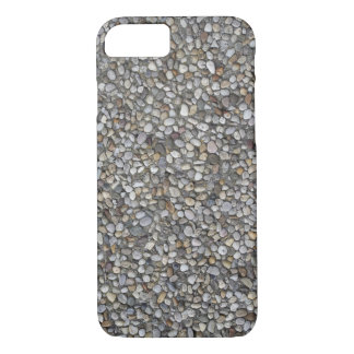 Texture of small pebbles iPhone 7 case