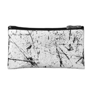 Texture Patterned Small Cosmetic Bag