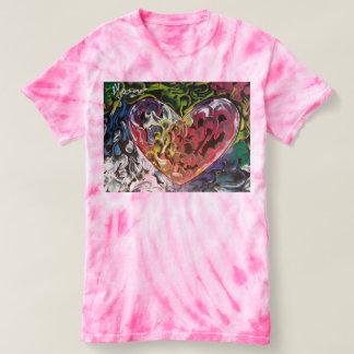 Texture tie dye t-shirt