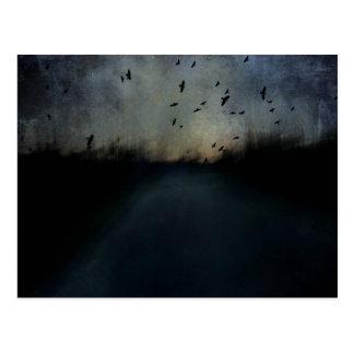 Texture Twilight Postcard