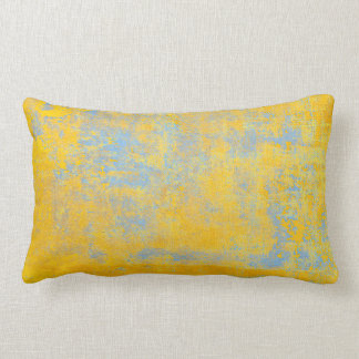 texture yellow lumbar pillow