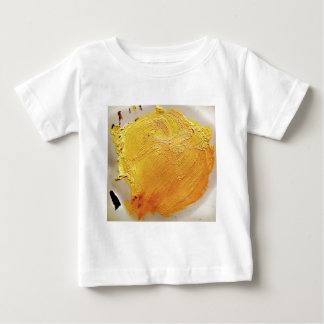 Texture yellow paint stain baby T-Shirt