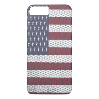 Textured American Flag iPhone 8 Plus/7 Plus Case