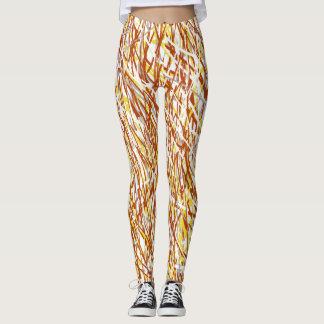 Textured Art Leggings